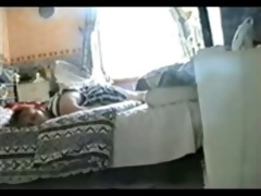 hidden livecam catches my sister rubbing pussy
