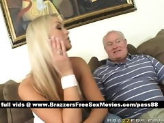amazing blonde wife acquires fucked by her aged