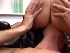 sugar dad fucks gal hard