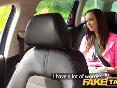 faketaxi college gal with big natural bumpers