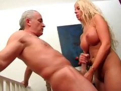 blondie wanks her grandpa!