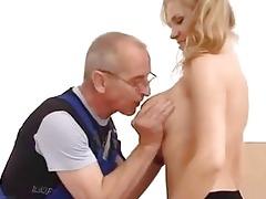 young girl fucked in the a-hole by old