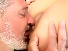 old guy fucks hot juvenile beauty