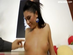 cute daughter creampie