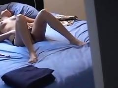 masturbating girlfriend filmed