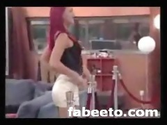2008 german big brother striptease live on tv