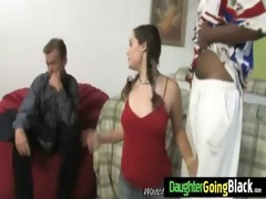 young daughter with nice ass fucked by a black