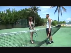 lexis tennis lesson