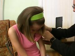 lustful teacher seducing teen