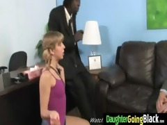 black penis and a diminutive babe 7