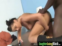 watching my daughter drilled by black monster 16