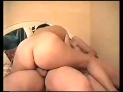 amateur threesome with chubby dude
