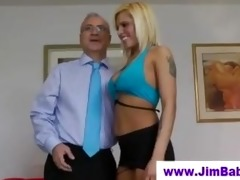 british chick fingering for old man