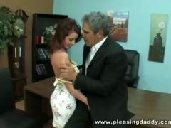 hot redhead tweety valentine fuck a lucky old