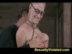 farmers daughter receives her tits fastened 1