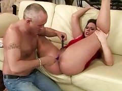 old boy toying juvenile pussy