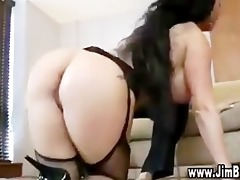 breasty whore in stockings gets screwed