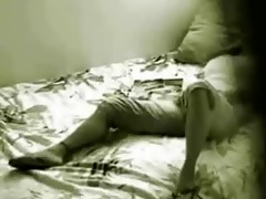 hidden cam in bedroom of my sister catches her