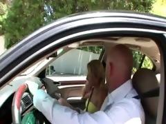 non-professional step daughter sucks ramrod