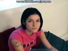 hot 18 year old emo girl receives stripped