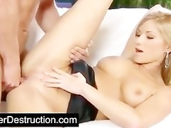 young girl pounded hard by large cock