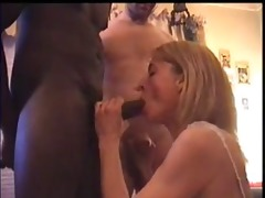 husband films marvelous white wife sucking a