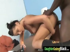 young daughter gets pounded by big black weenie 14