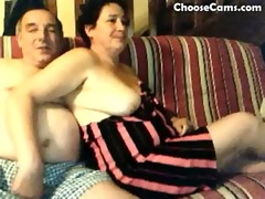horny grandma and granddad having enjoyment