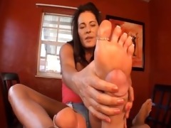 ftf – mother & step-daughter footjob