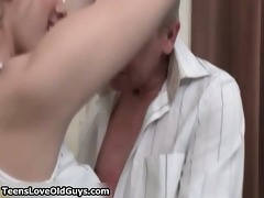 nasty blonde girl goes crazy