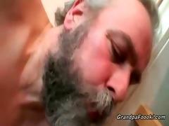 grandpa fucks hot hottie