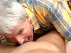 young oriental honey fucked by old man