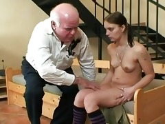 old granddad fucking youthful chick