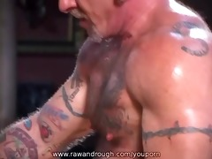 aaron receives flogged and jake receives fucked