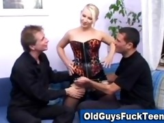 old chaps fuck hot younger sweetheart