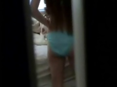 masturbation of not my cute sister caught by