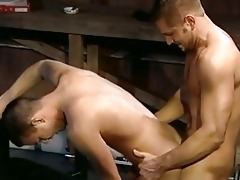dad gives son a fine drilling