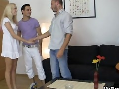 brother seduces his girl as he is leaves