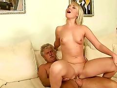 old man fucks hawt youthful blond