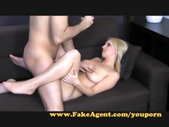 fakeagent hawt pleasure with young blonde