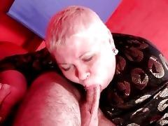 italian grandma loves younger pecker inside her