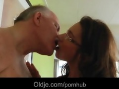 old butler serve sex to his capricious youthful